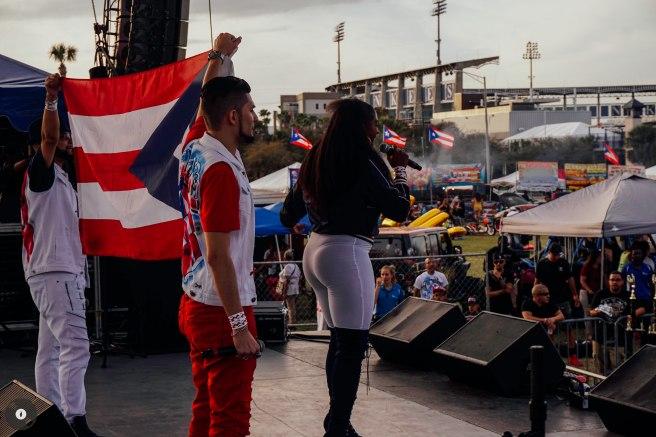 El G. nie at Tampa for Puerto Rico